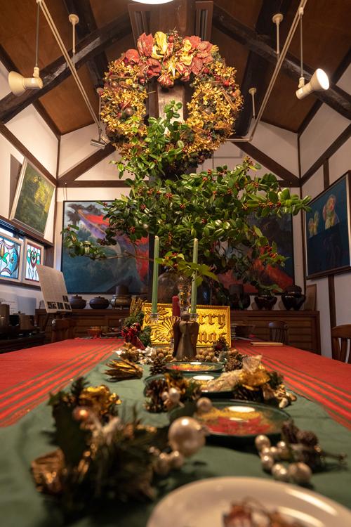 12月23日【日】クリスマス茶会