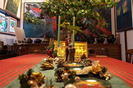 12月23日(日)クリスマス茶会